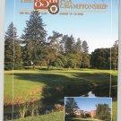 85th PGA Championship Program 85 th Golf Oak Hill Country Club August 2003