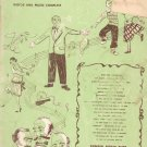 Remick Hits Through The Years Words and Music Vintage Sheet Music