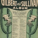 Everybodys Favorite Gilbert & Sullivan Album No. 16 Amsco Publishing Vintage Sheet Music