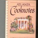 Atlanta Cooknotes Cookbook Junior League 0960791426