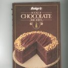Bakers Book Of Chocolate Riches Cookbook General Foods First Printing LOC# 8382254