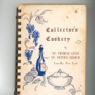 Collectors Cookery Cookbook Regional Church New York St Peters