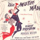 The Music Man Vocal by Meredith Willson Vitage Frank Music Company