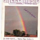 Lot Of 3 Sheet Music Magazine 1981