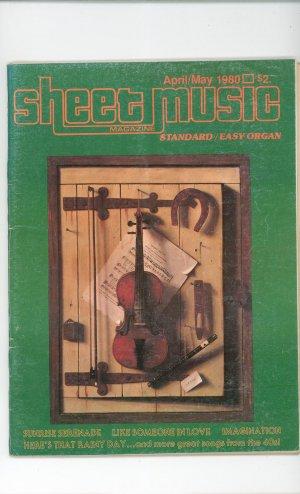 Lot Of 3 Sheet Music Magazine 1980 1978 1977