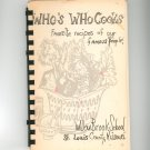 Whos Who Cooks Cookbook Regional School Missouro St Louis County