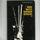 Kodak Master Darkroom Dataguide For Black And White Vintage