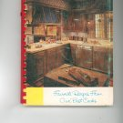 Favorite Recipes From Our Best Cooks Cookbook Vintage Regional Oran Community Church