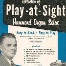 Jesse Crawford Play At Sight Number 1 & 2 Music Book Organ Vintage