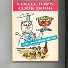 Womans Day Collectors Cook Book Cookbook Vintage First Edition 1960