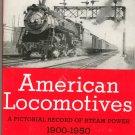 American Locomotives Pictorial Record Steam Edwin P Alexander 0517014238