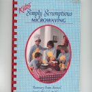 Kids Simply Scrumptious Microwaving Cookbook 0961552204 Stancil Wilkins