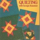 Lap Quilting With Georgia Bonesteel 0848705246