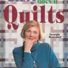 Easy Does It Quilts by Georgia Bonesteel 0848714806