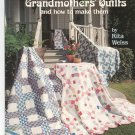 Grandmothers Quilts And How To Make Them by Rita Weiss 0881952281 #4119