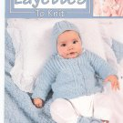 Sweet Layettes To Knit by Carole Prior Leisure Arts # 3145