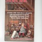 Nutshell News  December 1986 International Festivities Decorated Trees Miniatures
