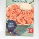 Pillsburys 10th Grand National Bake Off 100 Prize Winning Recipes Cookbook Vintage 1959