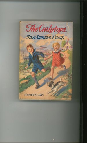 Vintage The Curlytops In A Summer Camp  by Howard R Garis Cupples & Leon 1927