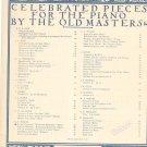Aria Con Variaziono by G. Handel Piano G Schirmer Inc. 2790 Vintage