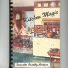 Kitchen Magic Favorite Family Recipes Cookbook Vintage Regional New York Church Advertisements