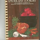 Americana Cookery Cookbook Home Economics Teachers Vintage