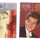 Vintage RCA Victor Record Club / Reader's Digest Music Guide Catalog Lot Of 2 1962