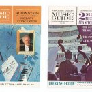 Vintage RCA Victor Record Club / Reader's Digest Music Guide Catalog Lot Of 2 1963