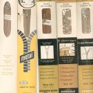 Vintage Lot Assorted Sewing Supplies Zippers by Talon & Conmar