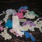 Vintage Lot Assorted Lace Type Pieces