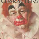 Clowns And Characters by Leon Franks Walter T Foster 62 Vintage Art