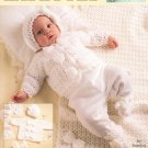 Cuddle Me Layettes by Sandra Abbate Crochet Leisure Arts