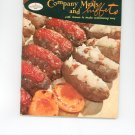 Good Housekeepings Company Meals and Buffets #14  Cookbook 1958 Vintage