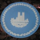 Wedgwood Christmas Collector Plate 1977 Westminster Abbey With Box