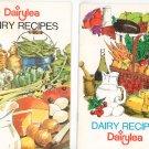 Lot of 2 Dairylea Cookbooks