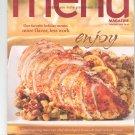 Wegmans Menu Magazine Holiday 2006  Issue 23