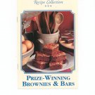 Country Cooking Recipe Collection Prize Winning Brownies & Bars