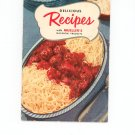Delicious Recipes With Mueller's Macaroni Products Cookbook Vintage