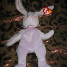 Ty Floppity The Purple Bunny Rabbit With Tag Retired Beanie Baby