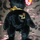Ty The End Bear With Tag Retired Beanie Baby