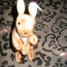 Ty Pouch The Kangaroo With Tag Retired Beanie Baby