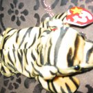 Ty Stripes The Tiger With Tag Retired Beanie Baby