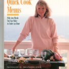 Martha Stewart's Quick Cook Menus Cookbook 0517570645
