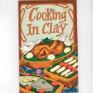 Cooking In Clay Cookbook by Irena Chalmers Vintage