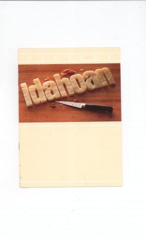 Idahoan Cookbook Potato Idaho Fresh Pack