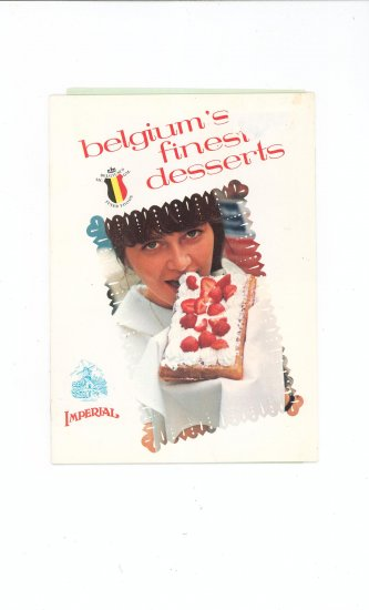 Belgium's Finest Desserts Cookbook by Imperial