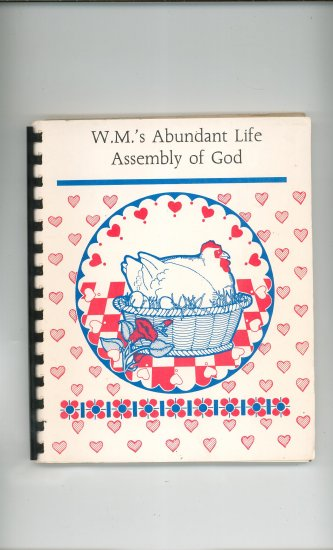 Favorite Recipes Cookbook Regional Church Bradford PA. Assembly God