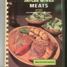 Favorite Recipes Of Jaycee Wives Meats Cookbook Vintage Regional Alabama