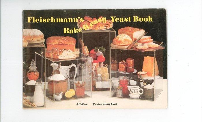 Fleischmanns Bake It Easy Yeast Book Cookbook Fleischmann's