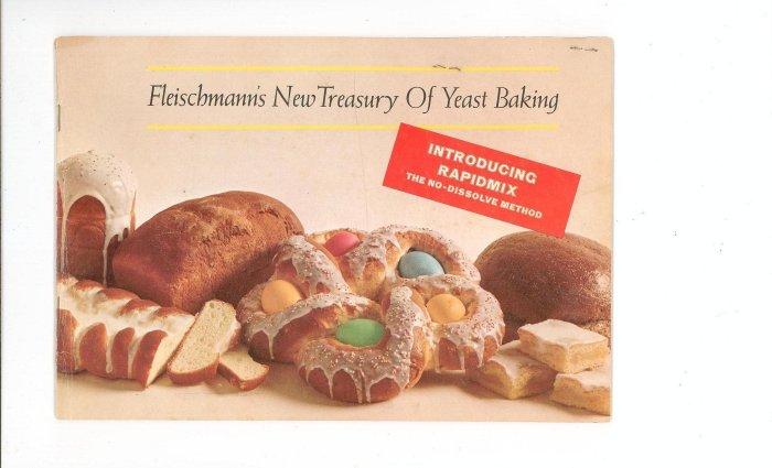 The Fleischmanns New Treasury Of Yeast Baking Cookbook